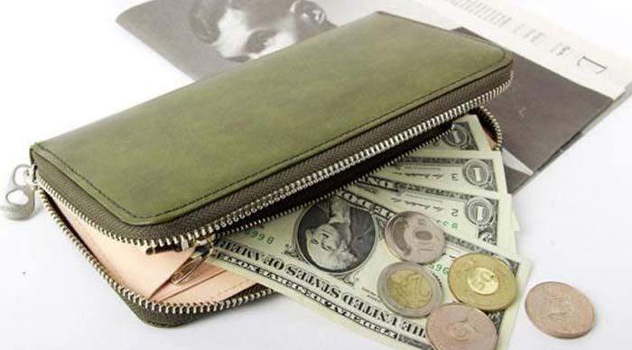 エルゴポック ラウンドジップ財布