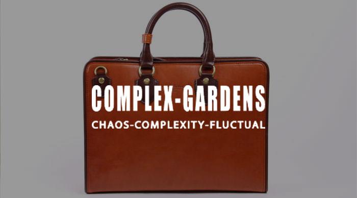 COMPLEX GARDENS(コンプレックスガーデンズ)のブリーフケース
