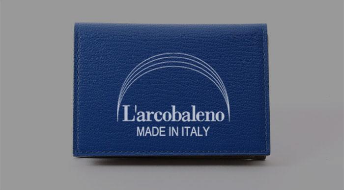 L'arcobaleno(ラルコバレーノ)の名刺入れ