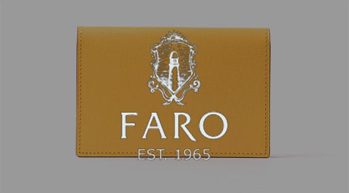 Faro(ファーロ)の名刺入れ