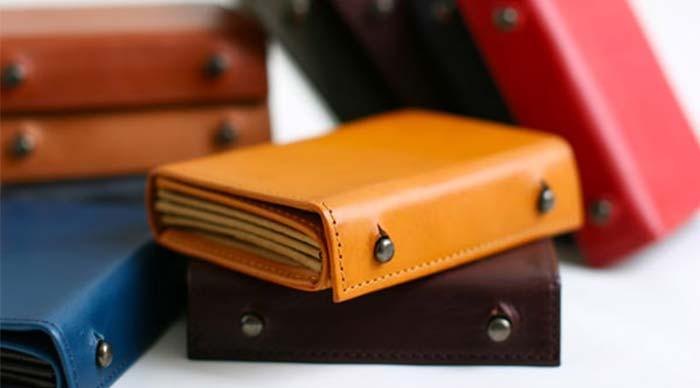 エムピウの二つ折り財布 millefoglie P25