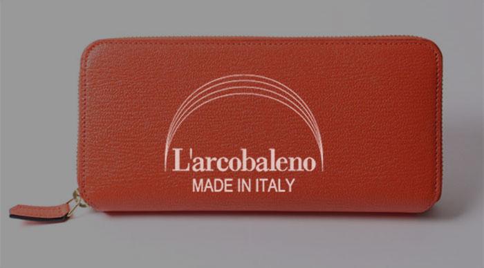 L'arcobaleno(ラルコバレーノ)の財布